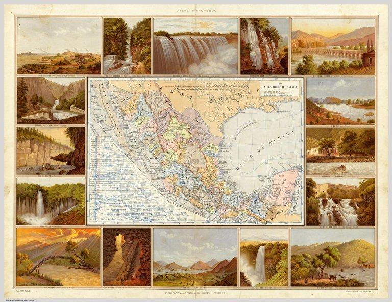 Carta Hydrografica.