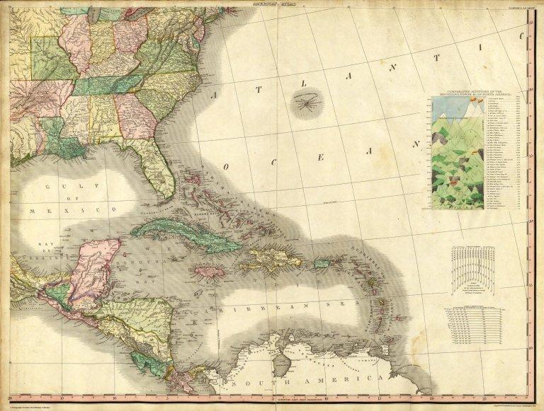 North America...S.E. Sheet.