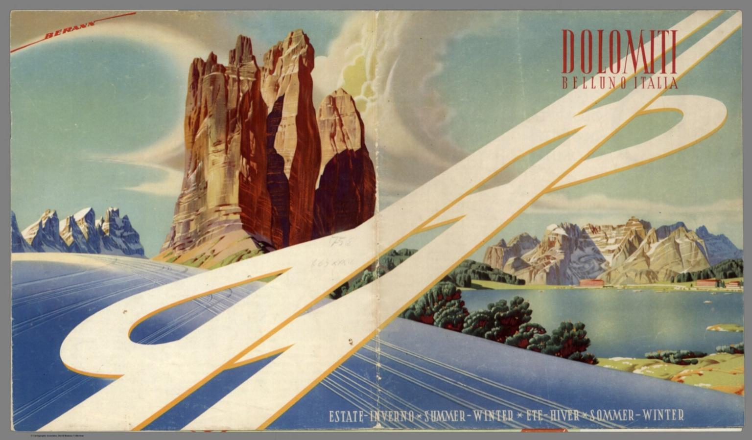 Cover: Dolomiti, Belluno, Italia. Summer-Winter.